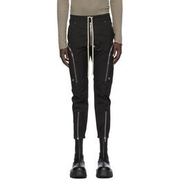 Rick Owens Black Bauhaus Cargo Pants RU20F3377 TE