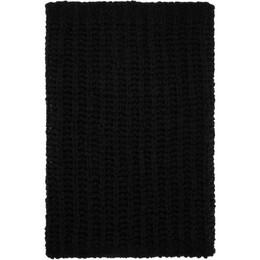 Rick Owens Black Knit Tube Fisherman Scarf RU20F3484 KFIR