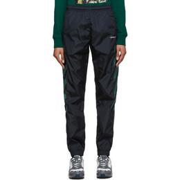 Off-White Black Diag Track Pants OMCA086E20FAB0021001