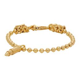 Emanuele Bicocchi Gold Bullet Bracelet PBB20G