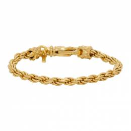 Emanuele Bicocchi Gold Rope Chain Bracelet VKB4G