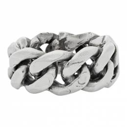 Emanuele Bicocchi Silver Chain Ring ACT2
