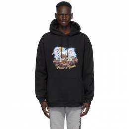 Vetements Black Magic Unicorn Hoodie UAH21TR635