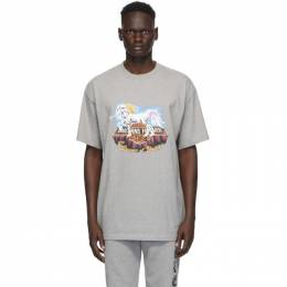 Vetements Grey Magic Unicorn T-Shirt UAH21TR617