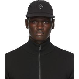 A-Cold-Wall* Black Rhombus Badge Cap ACWUA043