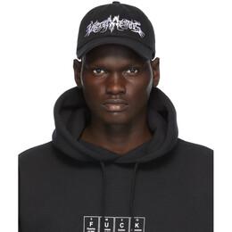 Vetements Black Goth Cap UAH21CA266