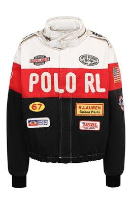 Хлопковая куртка Polo Ralph Lauren 211810348