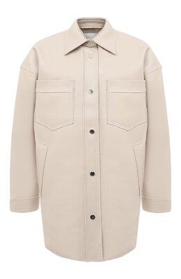 Куртка Nanushka MARTIN_ST0NE_B0NDED VEGAN LEATHER