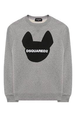 Хлопковый свитшот Dsquared2 DQ049Q-D001D