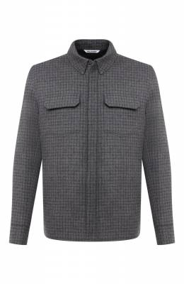 Кашемировая куртка-рубашка Andrea Campagna 94900H90V5202