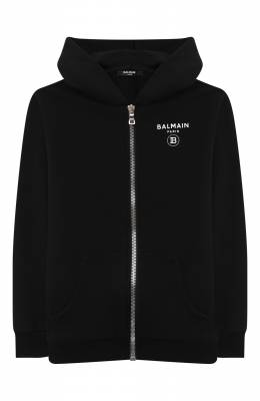 Хлопковая толстовка Balmain 6N4680/NX320/12-16