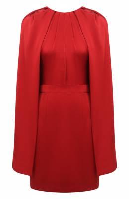 Шелковое платье Alexander McQueen 629351/QBAAE