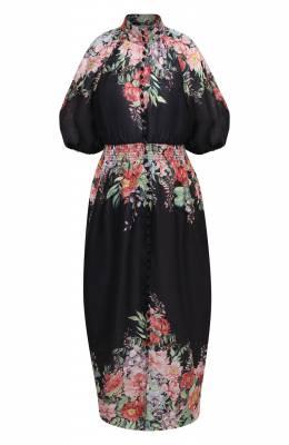 Льняное платье Zimmermann 8207DBTD