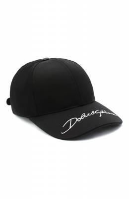 Хлопковая бейсболка Dolce&Gabbana GH590Z/FU6WW