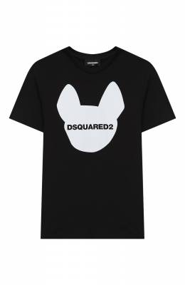 Хлопковая футболка Dsquared2 DQ048Z-D00XK