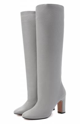Кожаные сапоги Kiton D50809X04T82