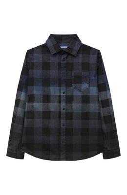 Хлопковая рубашка Jacob Cohen J8013 T-01014
