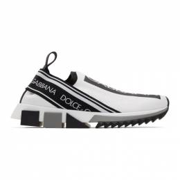 Dolce&Gabbana White Sorrento Slip-On Sneakers CK1595 AH677