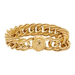Emanuele Bicocchi Gold Plated Chain Bracelet WRB220G