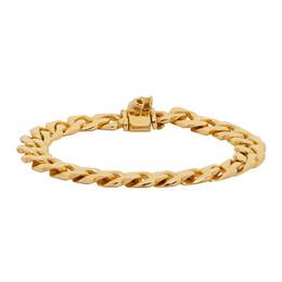 Emanuele Bicocchi Gold Edge Chain Bracelet EDB320G