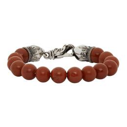 Emanuele Bicocchi Red Beaded Bracelet TUCB14O20