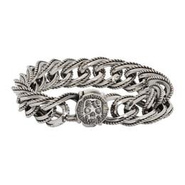 Emanuele Bicocchi Silver Plated Chain Bracelet WRB220