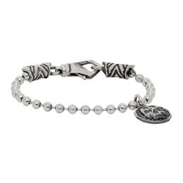 Emanuele Bicocchi Silver Coin Bracelet CNB1
