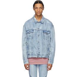 Ksubi Blue Denim Oh G Jacket 1000064292