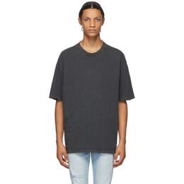 Ksubi Grey Biggie T-Shirt 5000004069