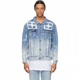 Ksubi Blue Denim Oh G Jacket 5000004996