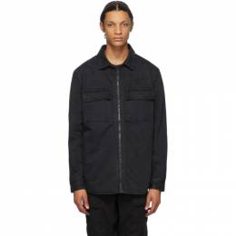 Ksubi Reversible Black Hoodrat Krow Shirt Jacket 5000004933