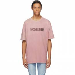 Ksubi Pink Sign Of The Times T-Shirt 5000005006