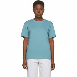 T By Alexander Wang Blue Foundation T-Shirt 4CC1201152