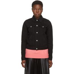 Givenchy Black Denim Logo Jacket BW008N50JY