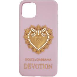 Dolce&Gabbana Pink Devotion iPhone 11 Case BI2688 AW532