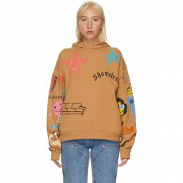 Marc Jacobs Brown CPFM Edition Tattoo Hoodie P1000038