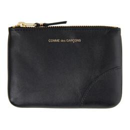 Comme Des Garcons Wallet Black Small Classic Wallet SA8100