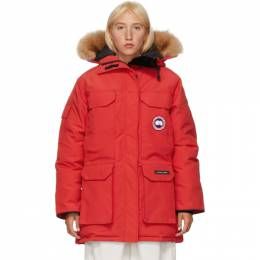 Canada Goose Red Down Expedition Parka 4660L