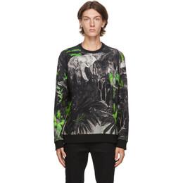 Valentino Black Mural Jungle Sweatshirt UV3MF14V6JP