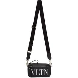 Valentino Black Valentino Garavani Mini VLTN Waist Bag UY2B0954WJW