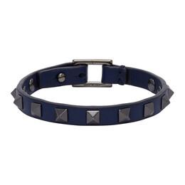 Valentino Blue Valentino Garavani Rockstud Bracelet UY2J0N03VH3