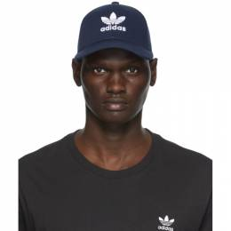 Adidas Originals Navy Trefoil Baseball Cap DV0174