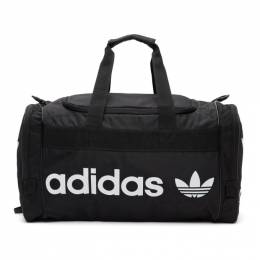 Adidas Originals Black and White Santiago 2 Duffle Bag CL5436