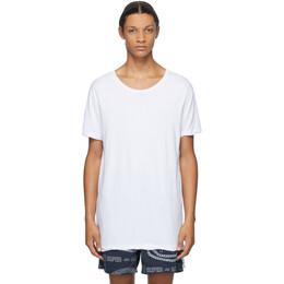Ksubi White Seeing Lines T-Shirt 1000064069