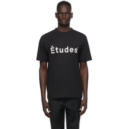 Etudes Black Wonder Etudes T-Shirt E14B-426-01