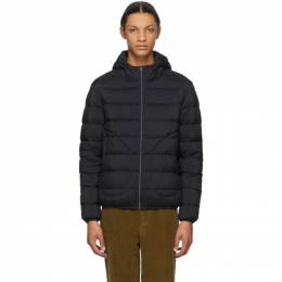 Herno Navy Down Hooded Bomber Jacket PI005ULE 19288