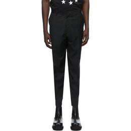 Etudes Black Wool Revolte Trousers E13-115