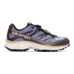 Salomon Blue and Purple XT-4 Advanced Sneakers 412630