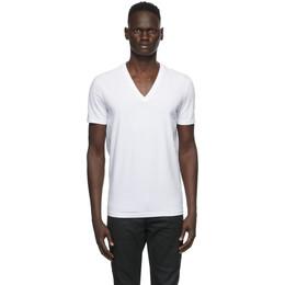 Dsquared2 Two-Pack White V-Neck T-Shirt DCX450030