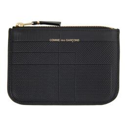 Comme Des Garcons Wallet Black Intersection Continental Wallet SA0110LS